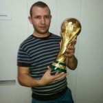 The Albanian who made the World Cup trophy
