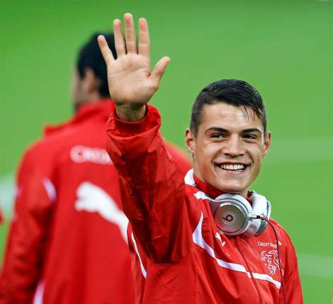 BBC Tips: Kosovo-born Granit Xhaka as key Switzerland player during World Cup