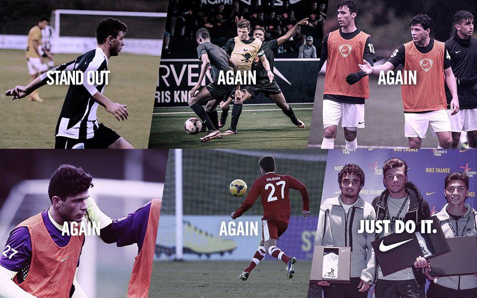 Nike Academy signed Ermal Hajdari, and now he won't stop scoring