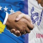 Across the Atlantic: Kosovo and Iowa form a bond