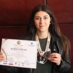 Zana Demiri wins Silver in Kenya based Olympics