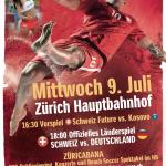 Kosovo-Switzerland, a historic Beach Soccer match