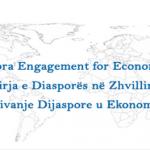 Engaging Diaspora for Sustainable Economic Development