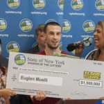 The 21 year-old Albanian wins 1.5 million dollars in lottery