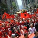 Albanians at the New York Emigrant Parade
