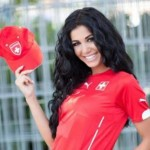 Saranda Supports the Swiss National Football Team