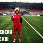 Venera Rexhi scores her debut goal