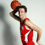 Being tall and loving basketball: Adrian Makolli heads from Germany to the US to study and play