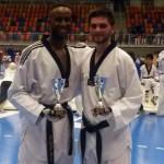 Berisha grabs Gold on Taekwando open in Switzerland