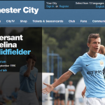 Bersant Celina scored twice for Manchester City's U18
