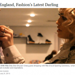"Rita Ora on New York Times: ""From England, Fashion's Latest Darling"""