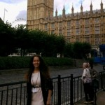 A refugee from Kosovo: selected for the UK Government's competitive internship programme