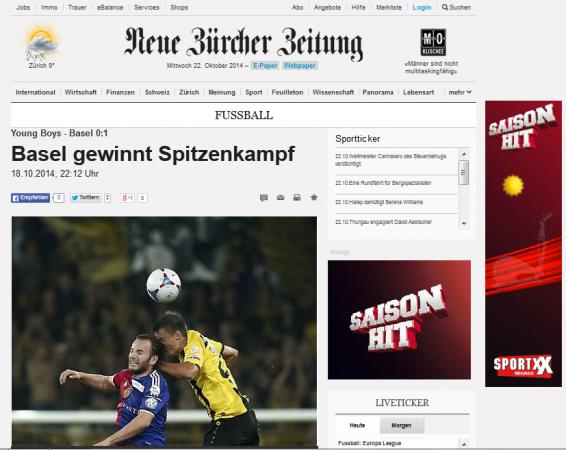 Neue Burcher Zeitung