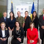 President of Kosovo hosts the International Women's Summit, the first of its kind in the Balkans