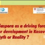 "Study: ""Diaspora as a driving force for development in Kosovo: Myth or Reality?"""