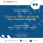 Kosovo Diaspora To Hold A Global Google Hangout