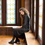 "Anda Kryeziu, a young Kosovar composer premiering her piece at ""Music und Politik"" festival in Luzern"