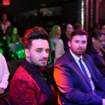 Matteo Brento performs in New York at Albanian Fashion Week