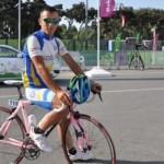 Guri as Kosovo's cycling representative